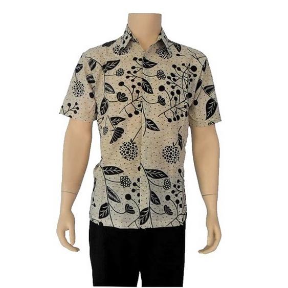 desain kemeja batik lengan pendek dan panjang untuk pria
