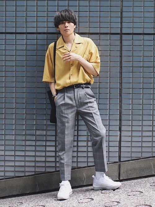 k style korean vintage style men