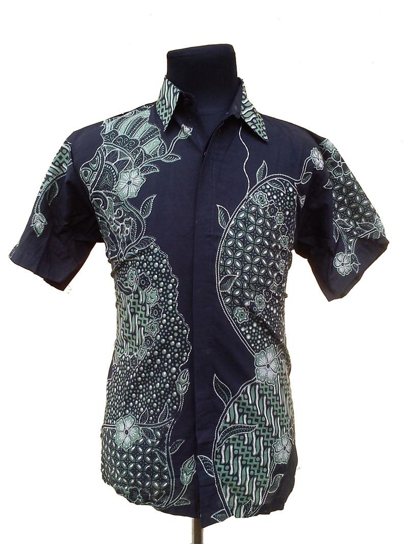model baju batik kantor modis dan elegan 1