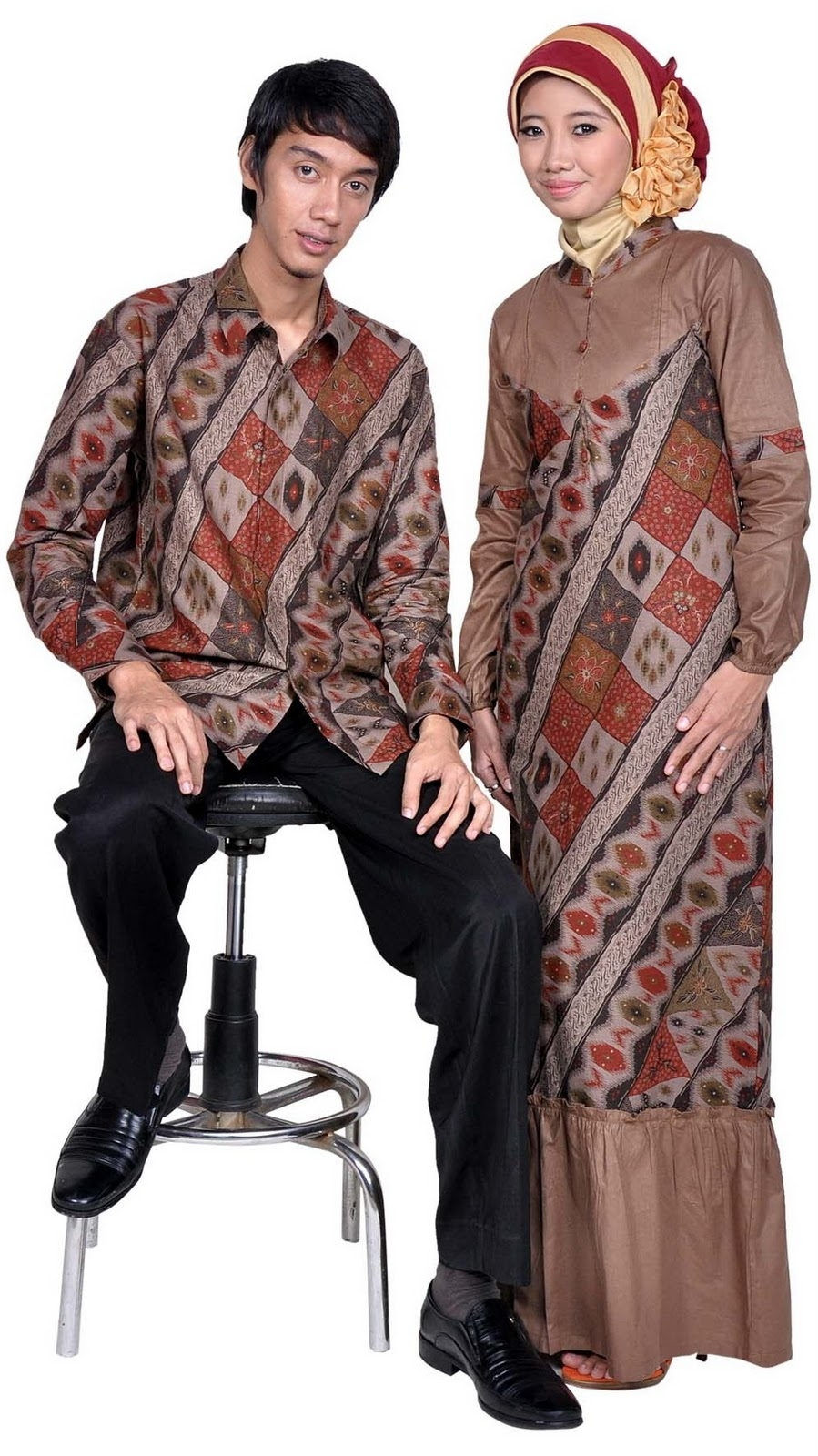 model baju batik muslim terbaru 2013 kumpulan info terbaru