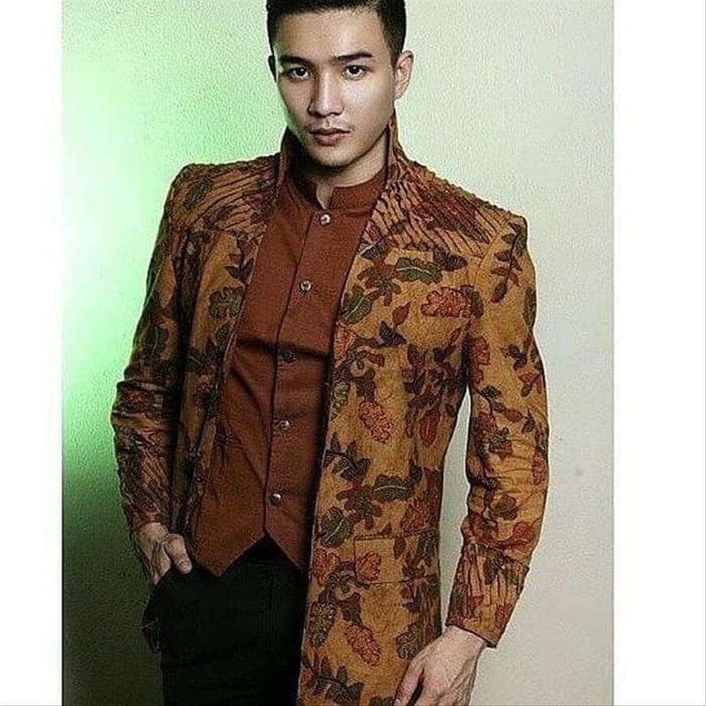 model baju batik pria semi jas ananta batik