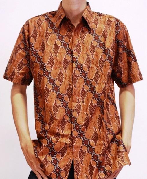 model baju batik untuk kerja pria batik indonesia