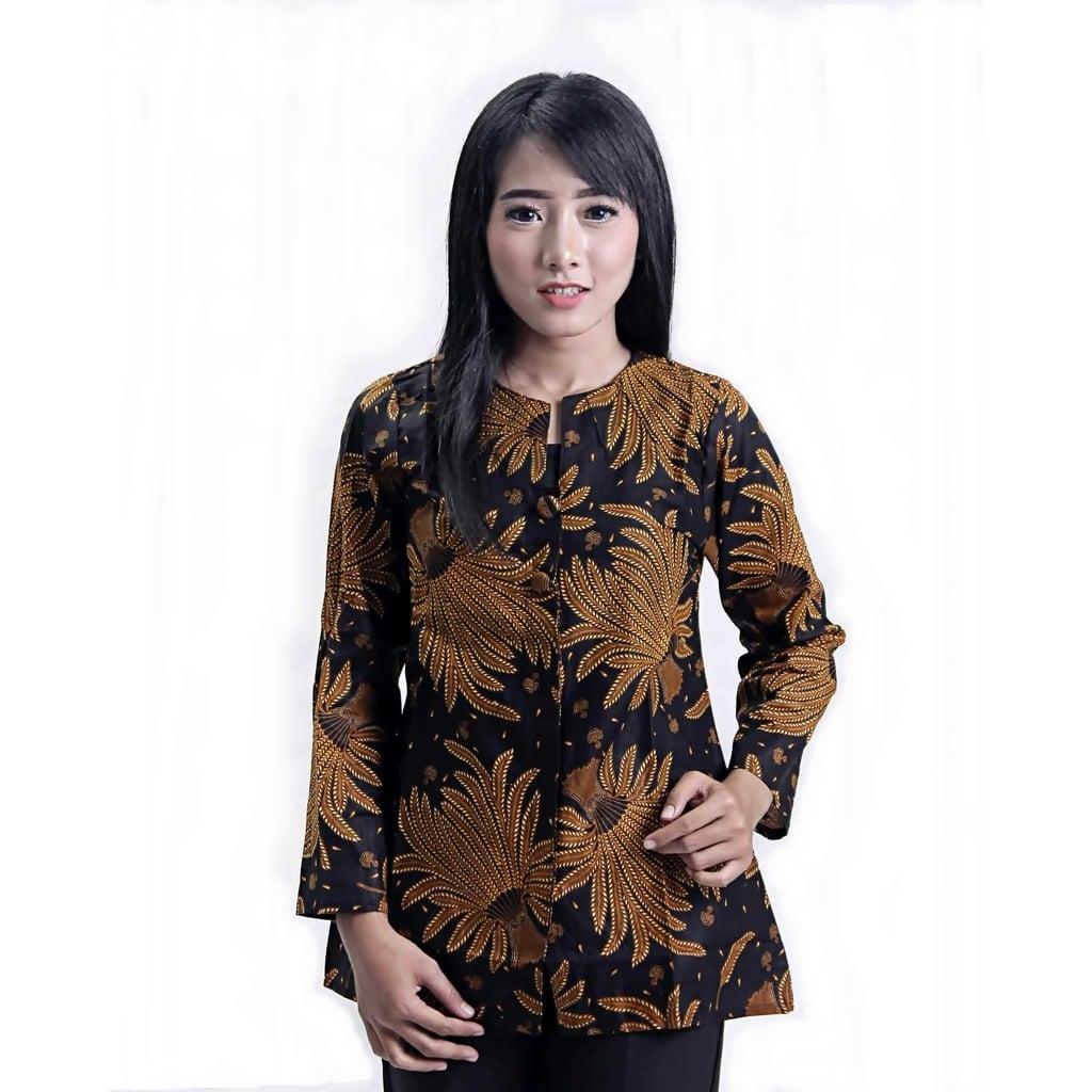 model baju wanita resmi 55 model seragam batik kantor