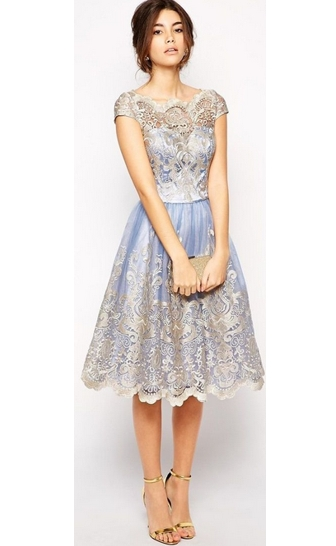 model gaun pesta brokat panjang dan pendek fashion tren
