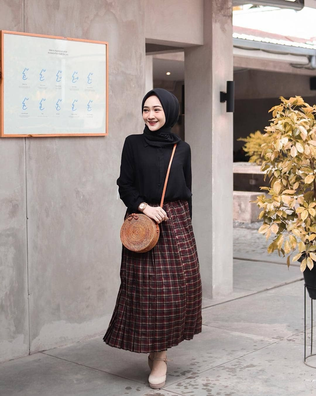 ootd kondangan casual non hijab jilbab gallery