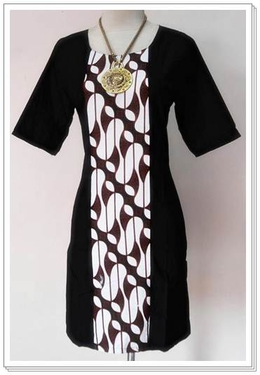 update model baju batik wanita modern terbaru 2013