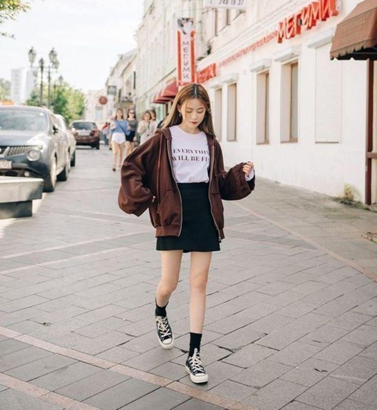 7 beautiful korean girl ootd styles that make hangouts