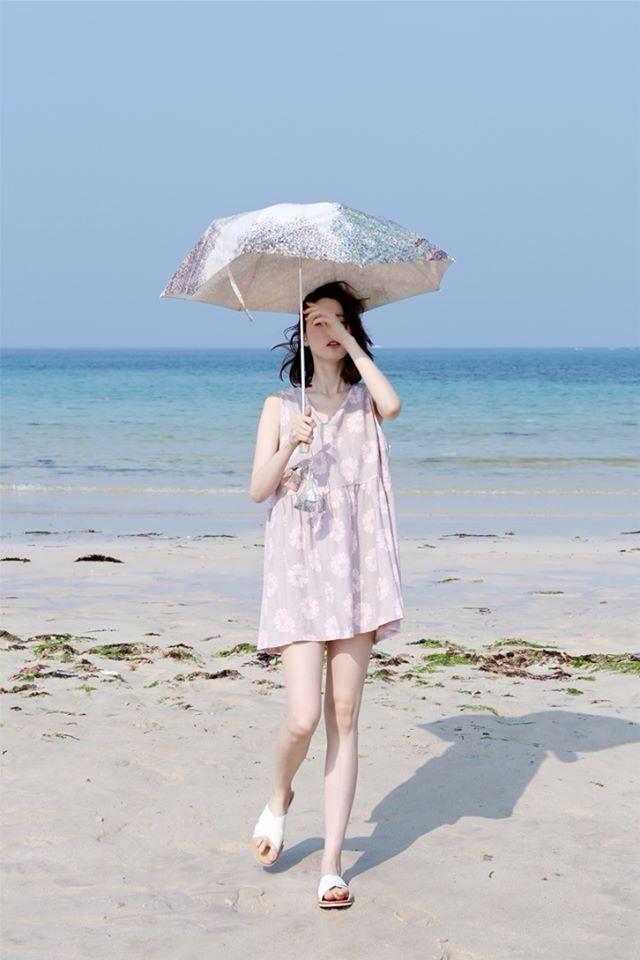 beach girl fashion korean fashion girl