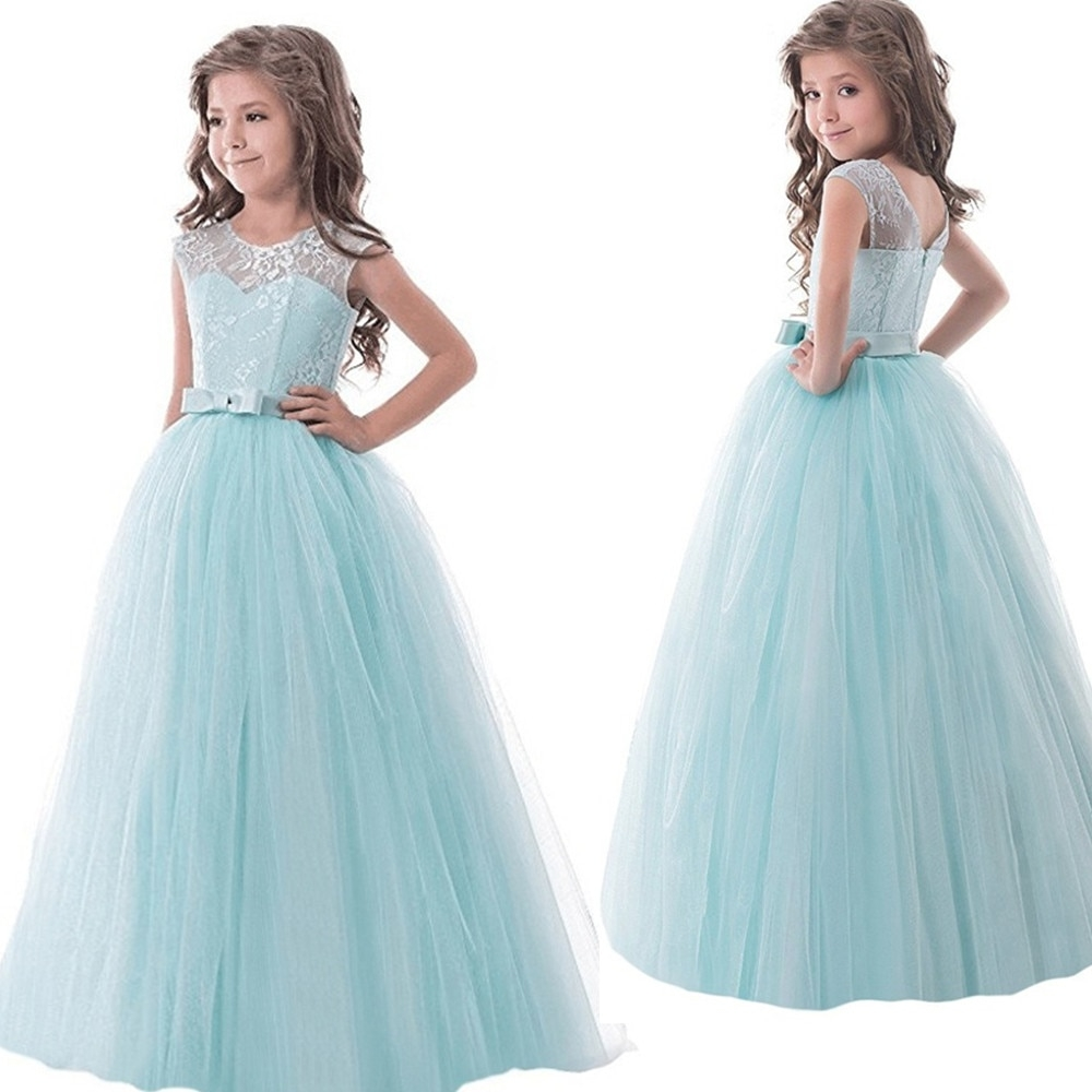 children prom designs kids clothes lace flower girls