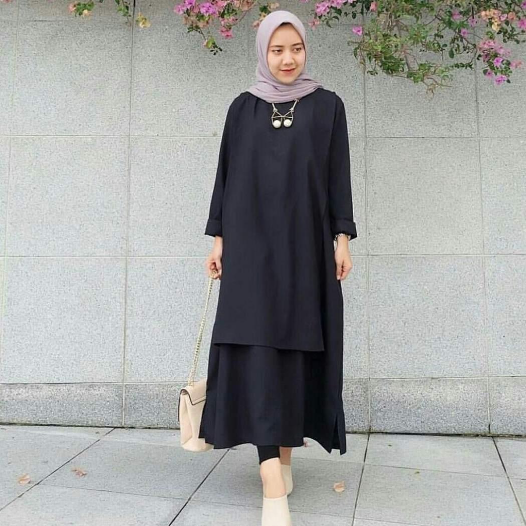 gambar baju gamis remaja kekinian ragam muslim