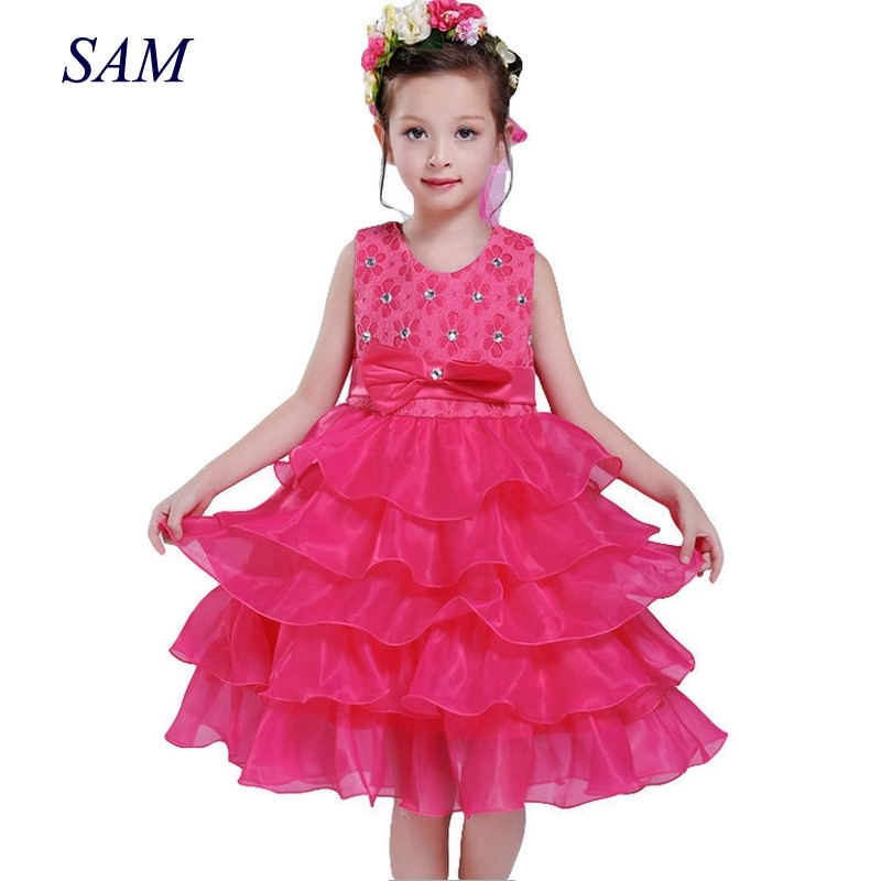 girl dress princess christmas lace kids christening events
