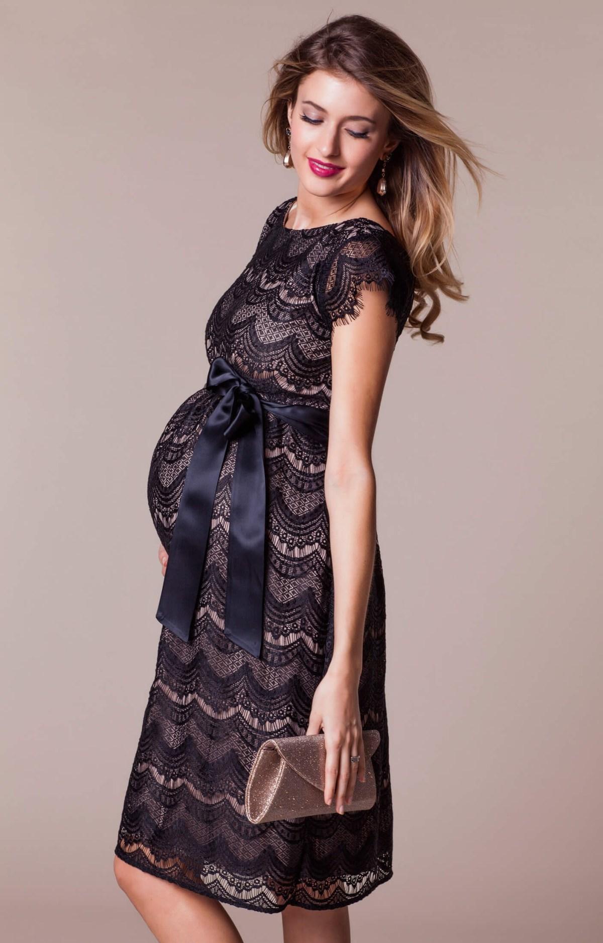 harriet maternity dress short blackdusk maternity