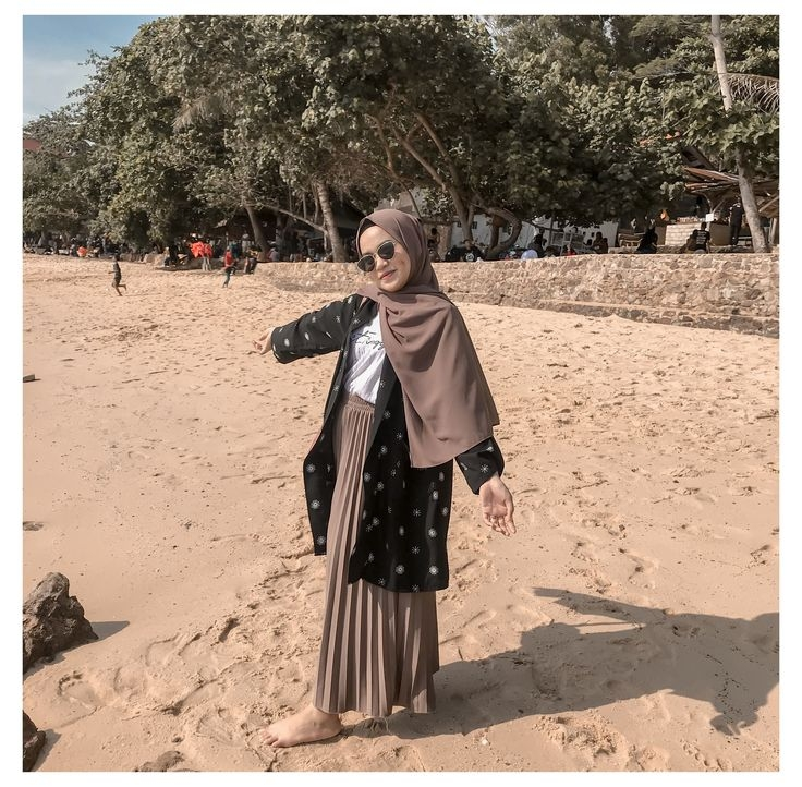 hawaiian day outfit ootd hijab casual ootd hijab 1