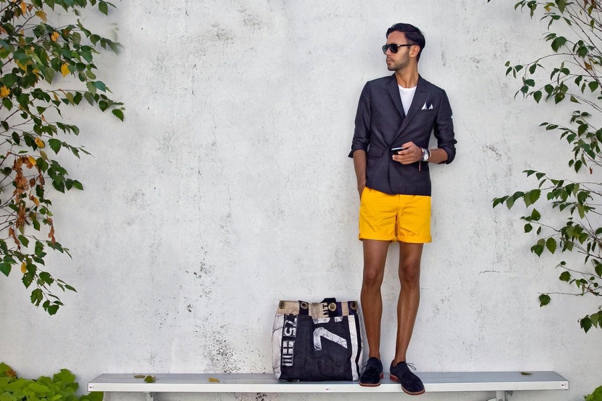mens shorts regain fashion status the new york times