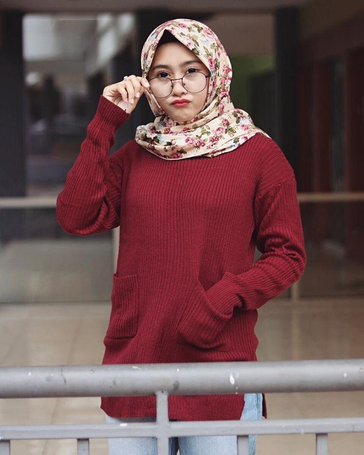 pin di casual hijab style