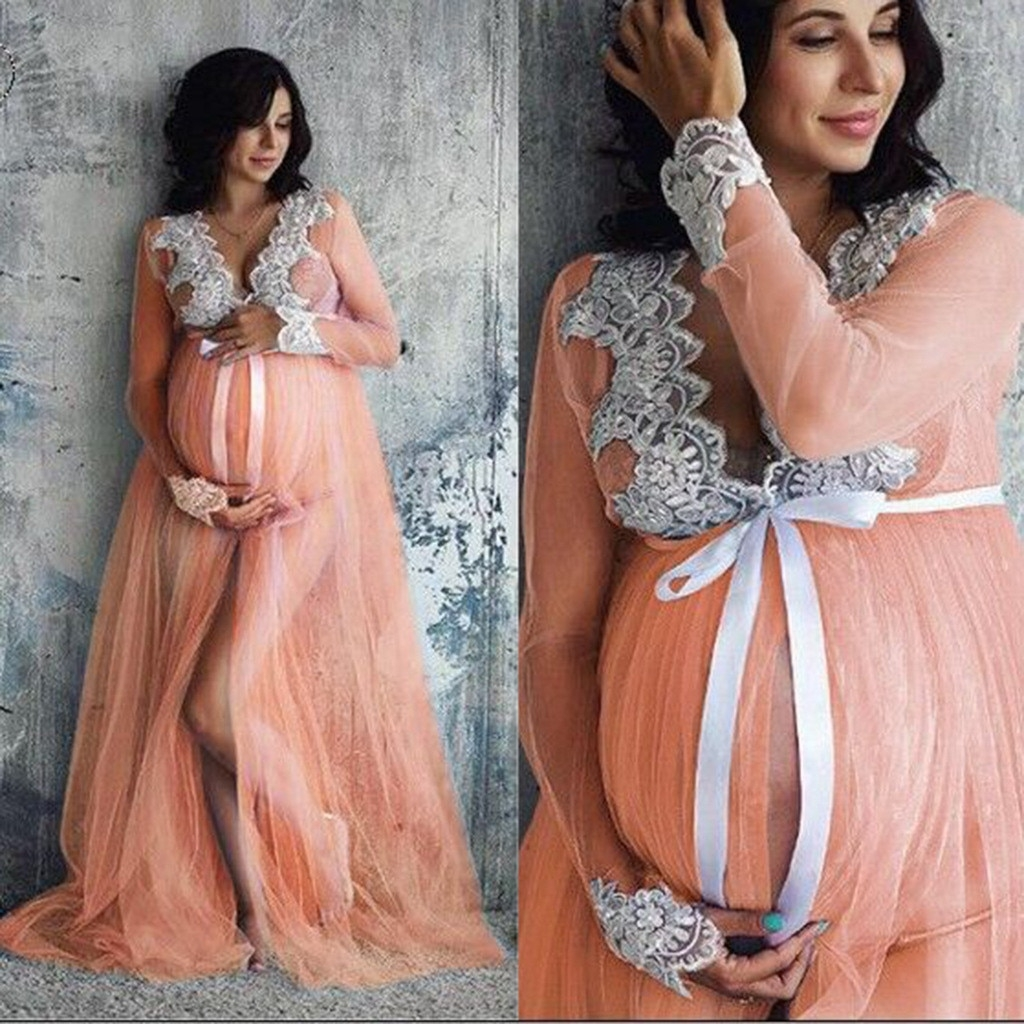 pregnancy dress photography natural lace maternity dresses