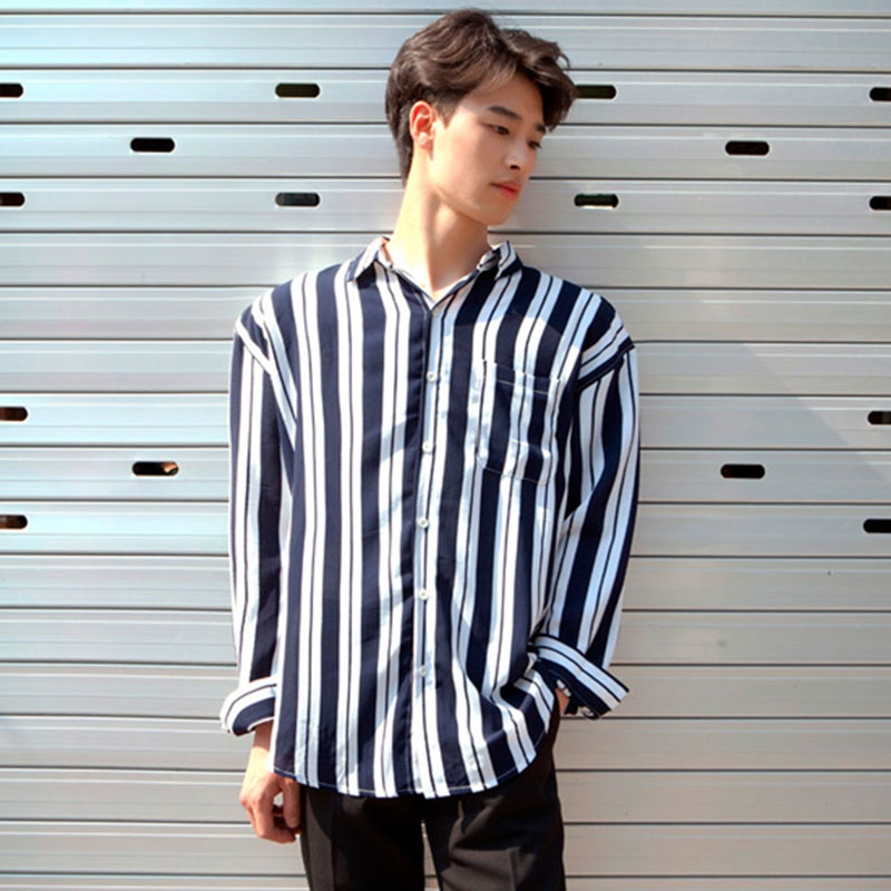 style korea pria kemeja kumpulan model kemeja