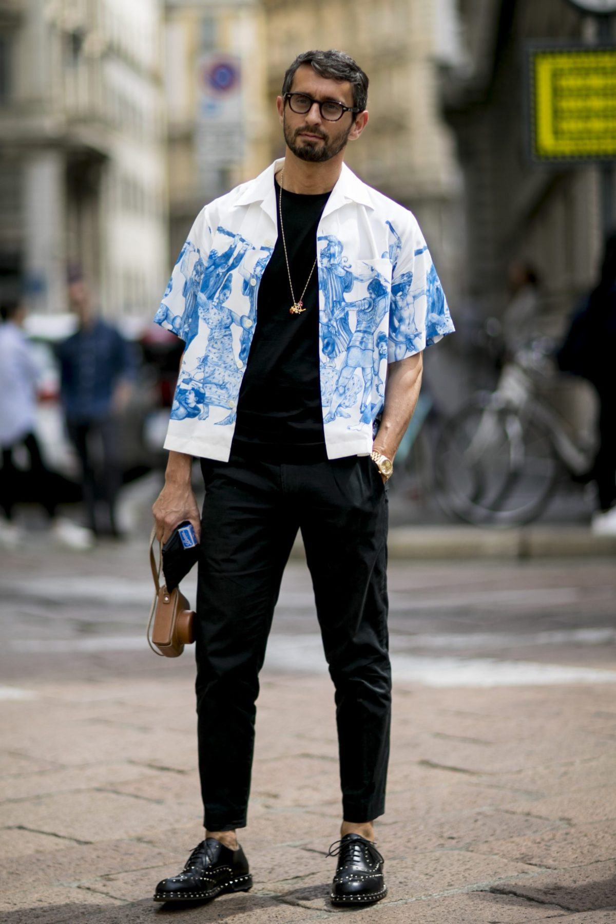 the best street style from milan mens fashion week ss17