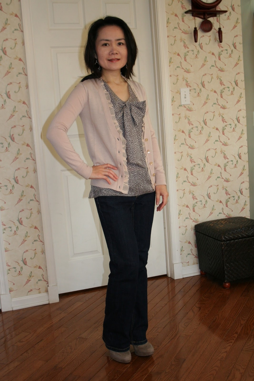vickys daily fashion blog ootd jcrew cardigan and blog