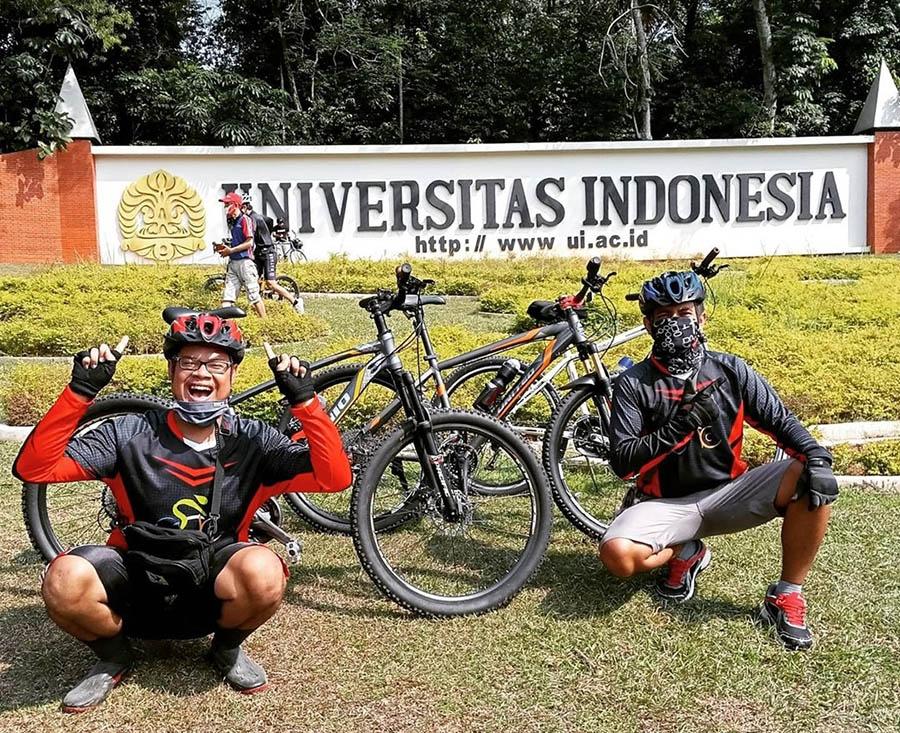 8 cycling spots in around jakarta for your casual
