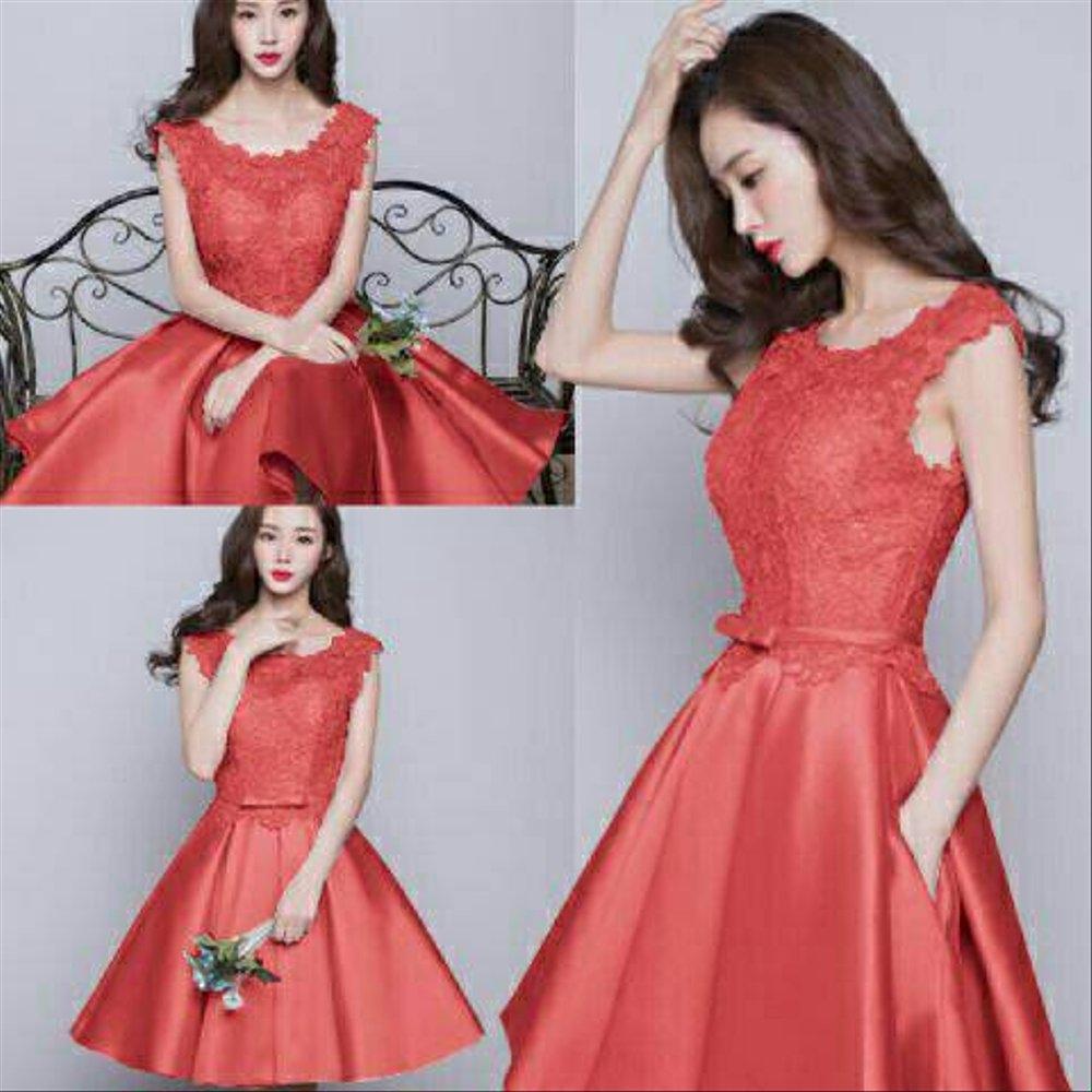 baru 33 model baju dress pendek