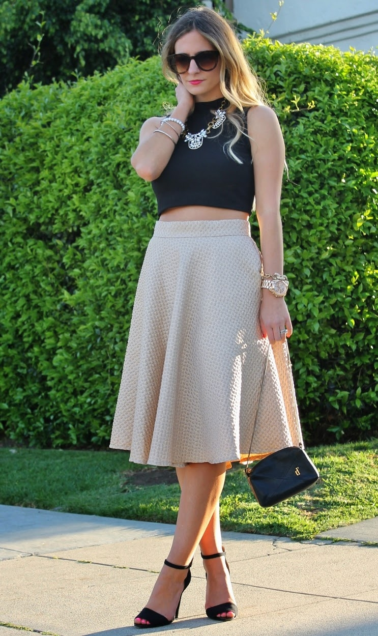 bedazzles after dark outfit post pre luckyfabb crop top