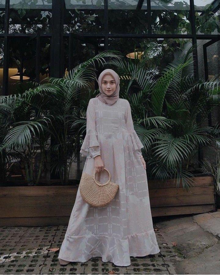 nisacookie pakaian pernikahan casual hijab outfit