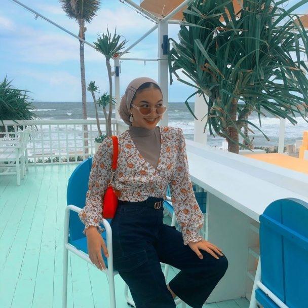 ootd hijab remaja ala selebgram nadya aisha wokeid