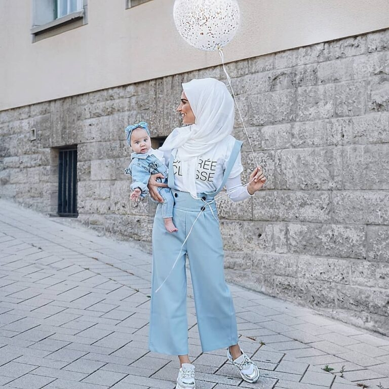 pastel favorites all the ways to wear blue hijab