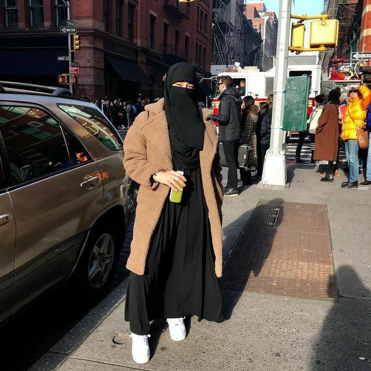 pin aafiya on elegant niqab niqab fashion modern