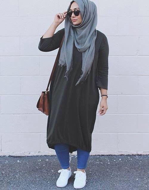 pin jehad khater on hijab pastels muslimah fashion