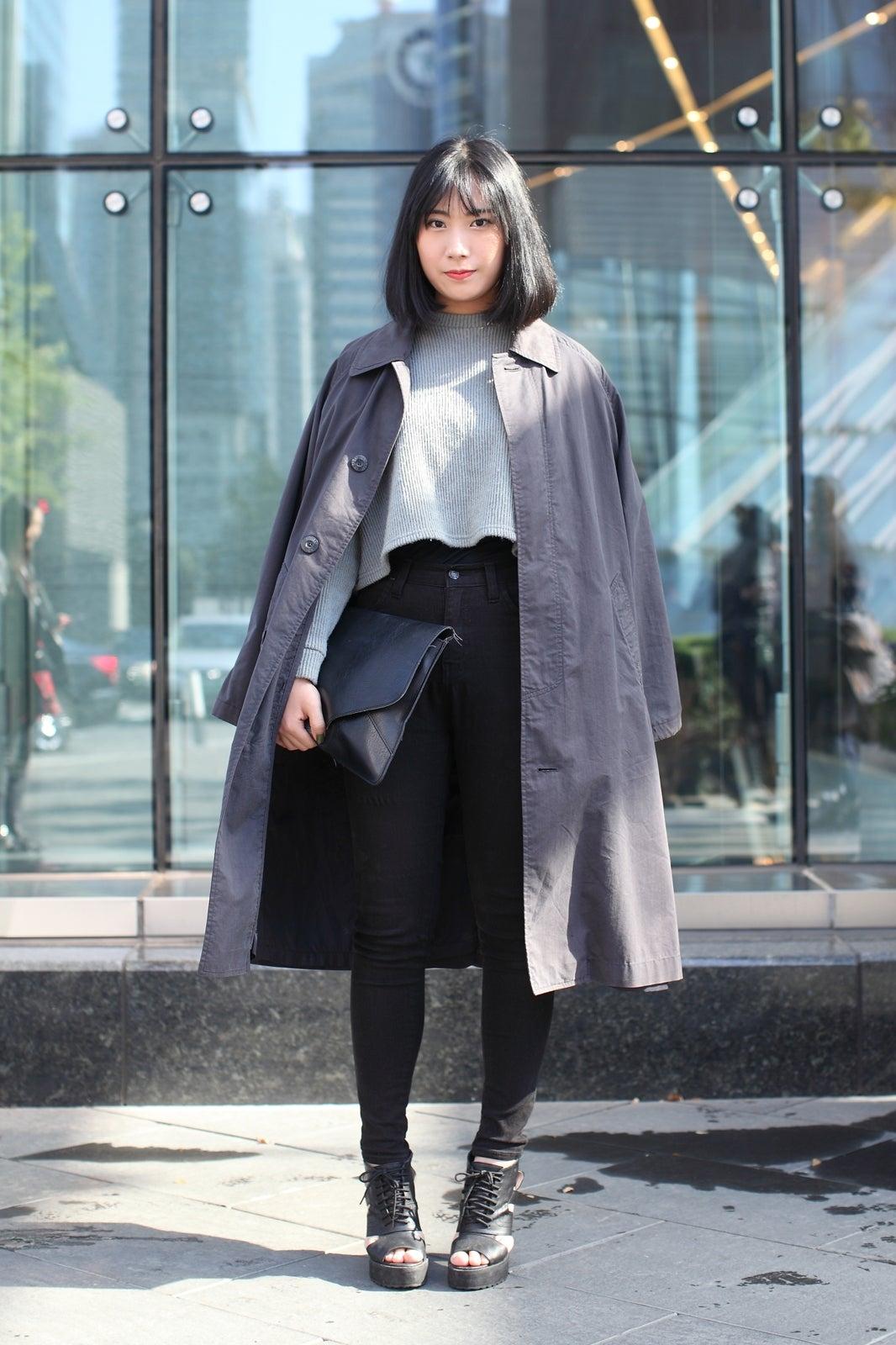 south korea street style seoul fashion week