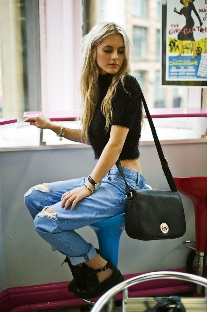 stylish crop top outfit ideas for all girl fashion 2d