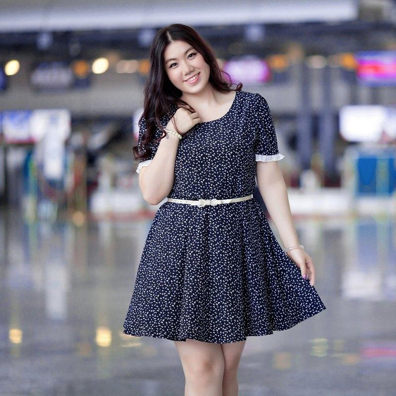 tips fashion untuk wanita bertubuh gemuk agar terlihat