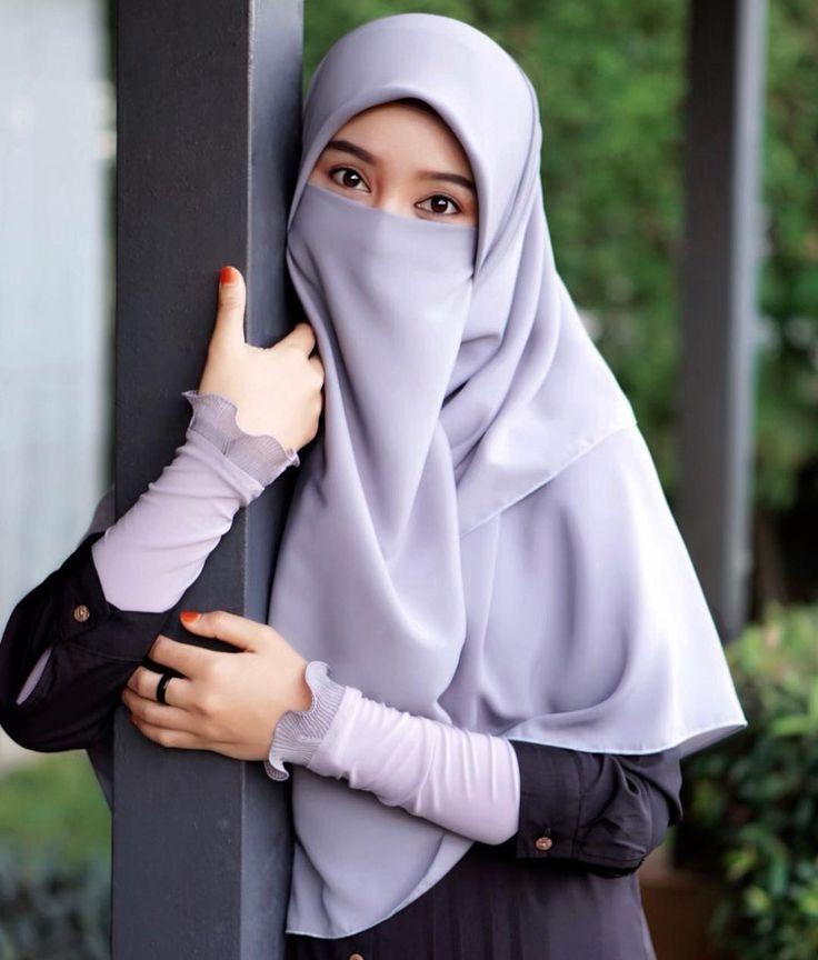 wanita bercadar hijab chic wanita gaya hijab