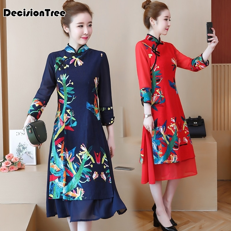 2019 new modern qipao traditional chinese dress cheongsam