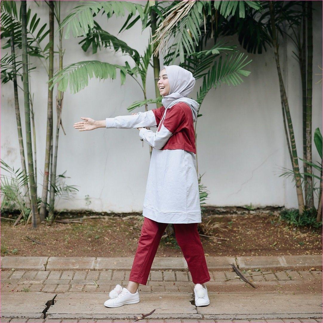 ala selebgram style baju jogging hijab jilbab gallery