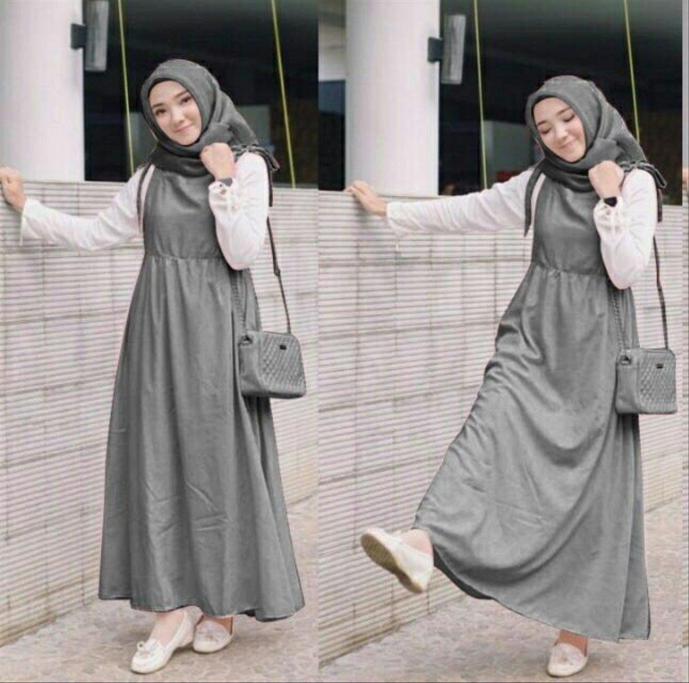 baju gamis kodok terbaru 2019 hijab muslimah