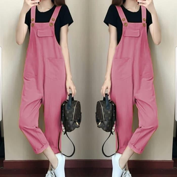 baju jumpsuit celana kodok wanita model terbaru ryn fashion