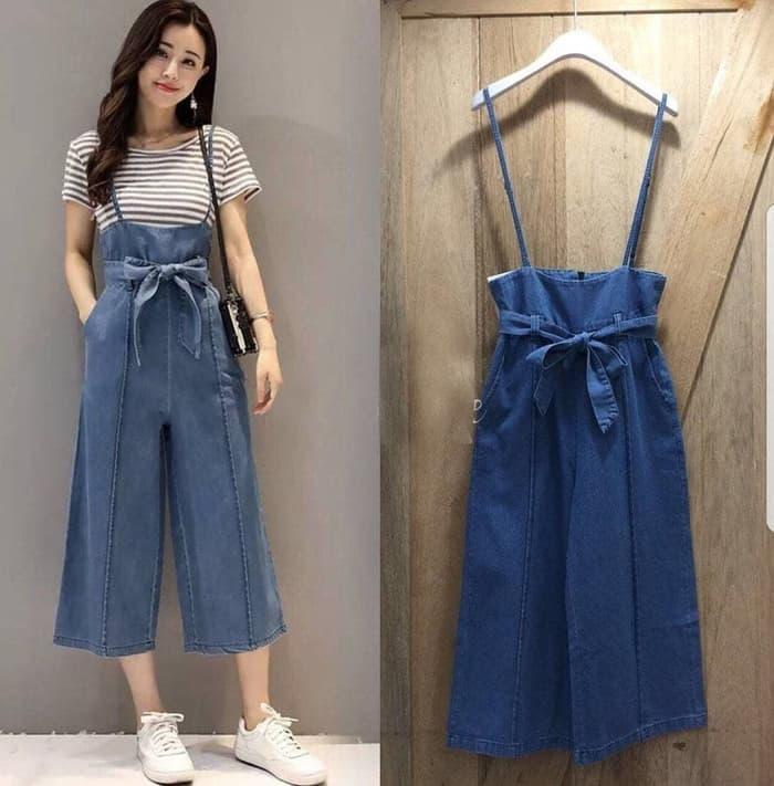 baju jumpsuit pendek wanita modis model terbaru ryn fashion