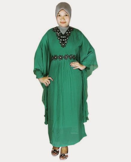 baju muslim wanita gemuk