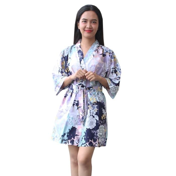baju tidur kimono hadir dengan beragam pilihan bahan yang
