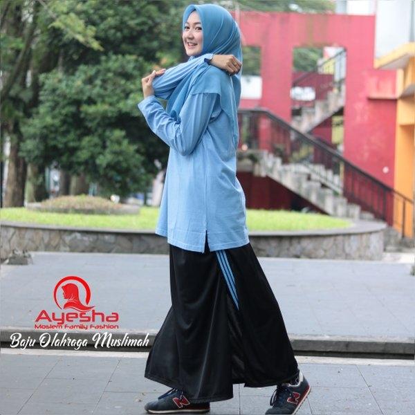 celana olahraga untuk wanita berhijab