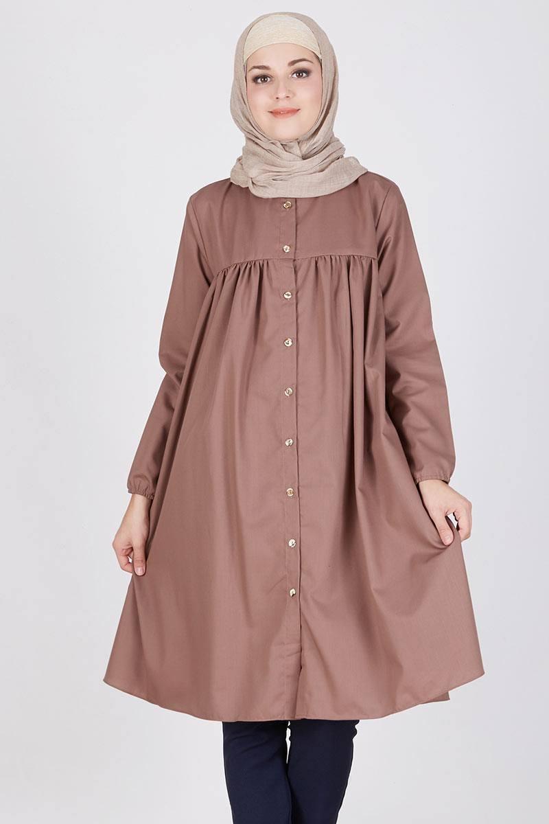 contoh model baju tunik terbaru tahun ini konveksi baju