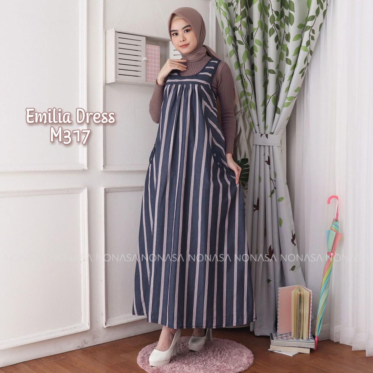emilia dress m317 baju hijab style ootd
