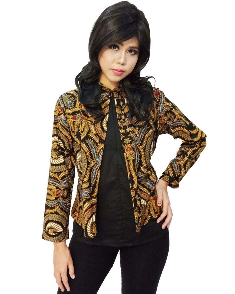 gambar baju rompi batik koleksi rina