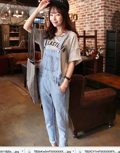 gkf baju kodok jumpsuit dress fashion wanita korea di
