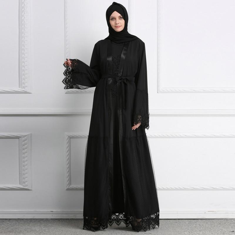 hijab kimono dentelle