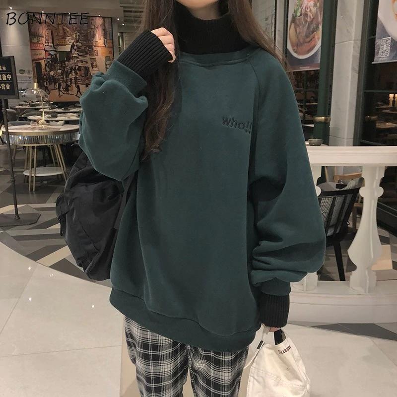 hoodies embroidery oversize sweatshirt sf oversized