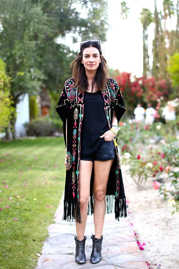 how to rock kimono in the street fashion inspo